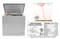 Black & Decker Chest Freezer - BFE53