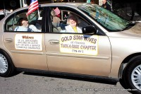 Gold Star Wives participating in Clarksville's 2010 Veterans Day Parade