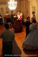 Dancers glide across the dance floor