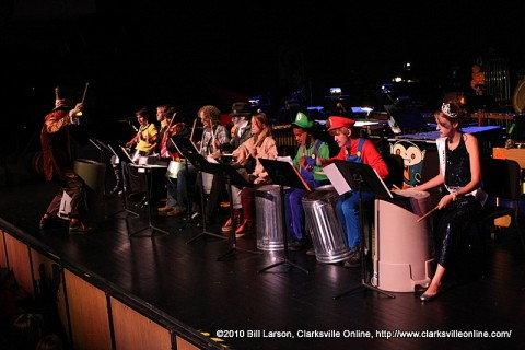 The APSU Percussion Ensemble's 2010 Halloween Concert