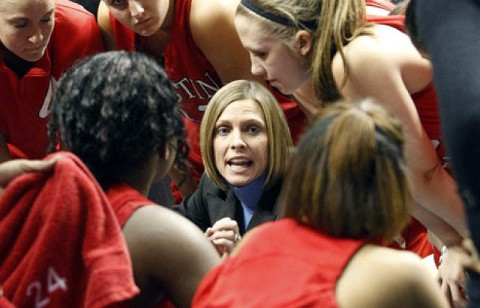 Head coach Carrie Daniels announced the addition of Kristen Stainback to the Lady Govs 2011-12 roster. (Courtesy: Robert Smith/The Leaf-Chronicle)