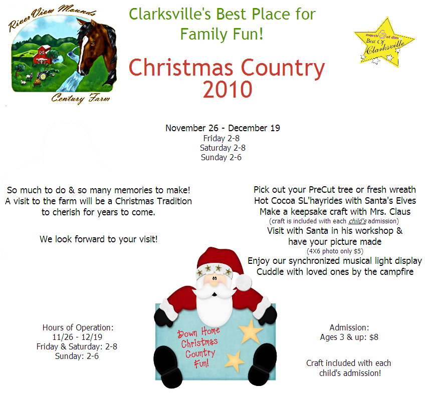 Santa Pays A Visit To Clarksville S Place For Family Fun Discover Clarksville Tn