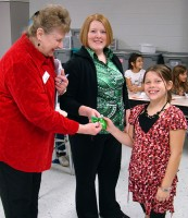 US Bank, a Partner in Education, helps elementary students operate their own school banks.