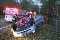 Officers Altman and Gilliard working the crash. (Photos CPD/PIO-Jim Knoll)