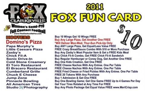Fox Fun Card