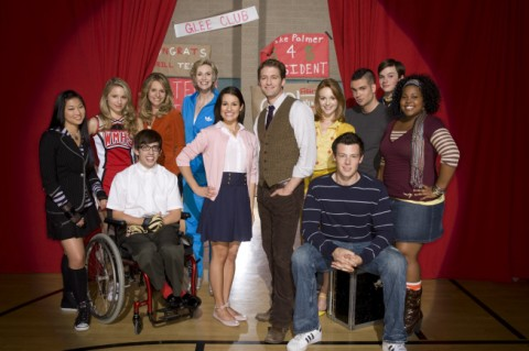 The Cast of the hit Fox TV Show Glee. ©2008 Fox Broadcasting Co. (Joe Viles/FOX)