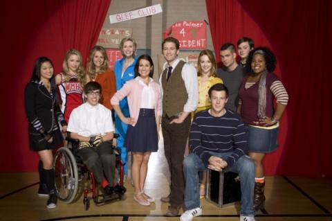 The Cast of the hit Fox TV Show Glee. ©2008 Fox Broadcasting Co. (Joe Viles/FOX)