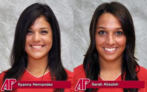 Ilyanna Hernandez and Sarah Alisaleh.