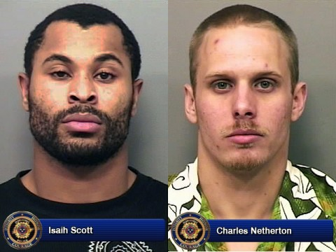 Isaih Scott and Charles Netherton charged with Aggravated Burglary and Aggravated Robbery.