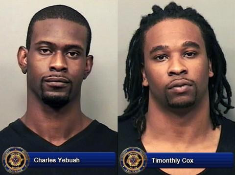 Charles Yebuah and Timothy Cox.