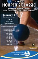 1st Annual Hoopers Classic Bowling Tournament