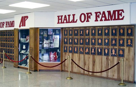 APSU Athletic Hall of Fame. (Photo Courtesy: Austin Peay Sports Information)