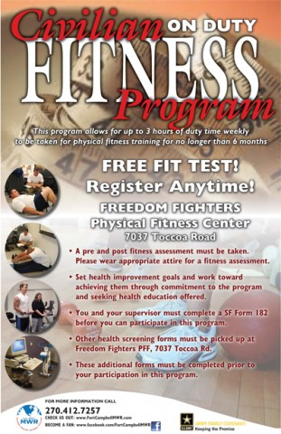 Civilian Fitness Program