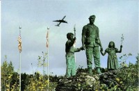 """Silent Witness"" the Arrow Air Flight 1285 memorial at Gander Lake"