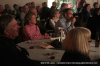 Mayor Elect Kim McMillan sits with Charlie Koon her Chief of Staff at the December 20th Comedy on the Cumberland Show