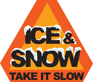 Ice and Snow Take It Slow