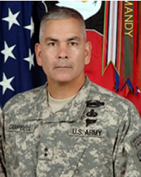 Major General John F. Campbell Commanding General 101st Airborne Division (Air Assault), Fort Campbell, KY.