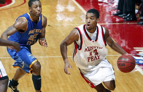 APSU Men's Basketball. (Courtesy: Robert Smith/The Leaf-Chronicle)