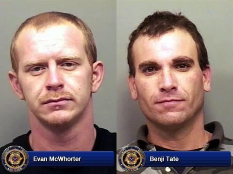 Evan McWhorter and Benji Tate