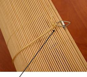 roll up blinds without release clips