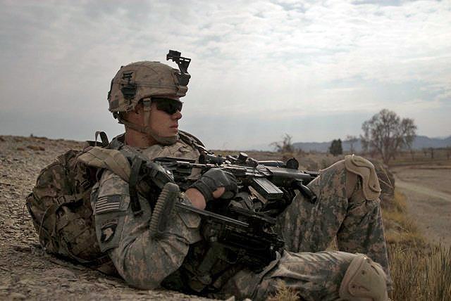 1st Battalion, 187th Infantry Regiment, patrols Sabari District ...