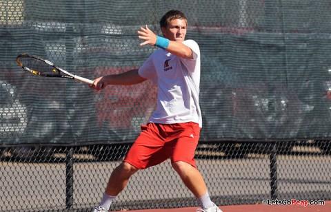 APSU Men's Tennis. (Photo Courtesy: Mateen Sidiq/Austin Peay)