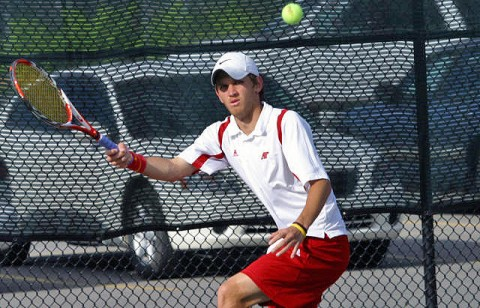 APSU Men's Tennis. (Photo Courtesy: Austin Peay Sports Information)