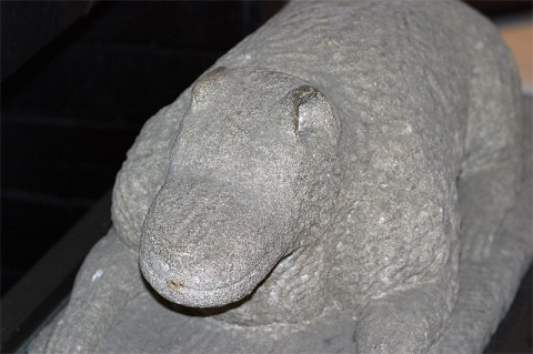 "William Edmondson Sculpture ""The Critter""."