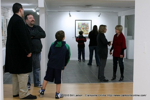 First Thursday Art Walk in downtown Clarksville scheduled for July 3rd.