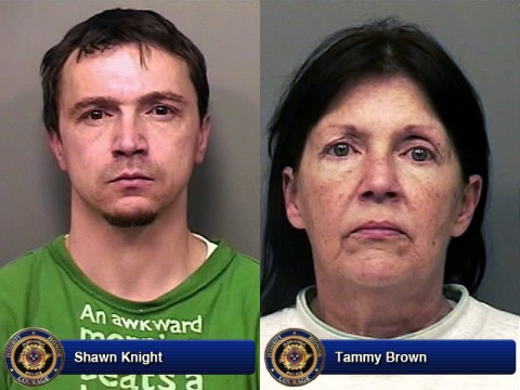 Shawn Knight and Tammy Brown.