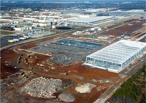 Nissan Plant Smyrna Tn >> Nissan Progresses Construction Of Electric Vehicle Battery