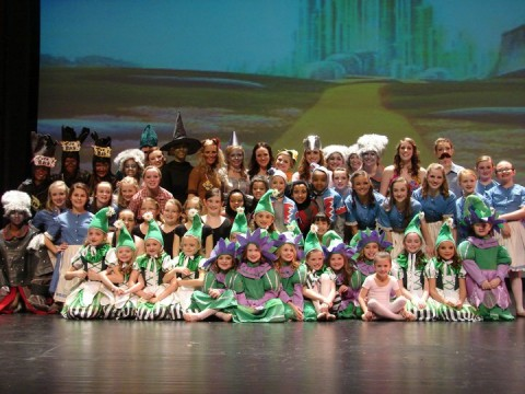 """There's No Place Like Home"" a ballet Rendition of the Wizard of Oz by Acro Dance Express."