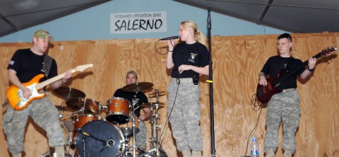 The 101st Airborne Division rock band.