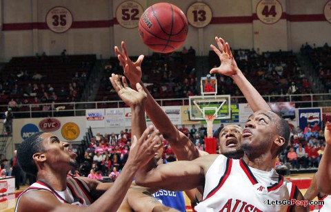 APSU Men's Basketball. (Robert Smith/The Leaf-Chronicle)