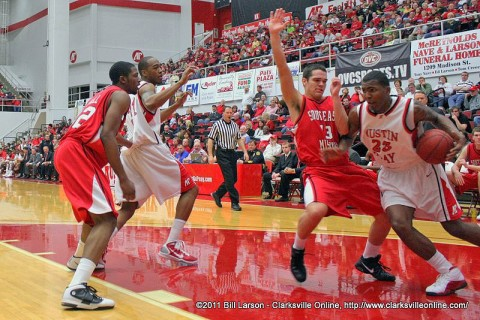 APSU Men's Basketball.