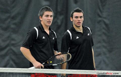 APSU Men's Tennis. (Mateen Sidiq/Austin Peay)