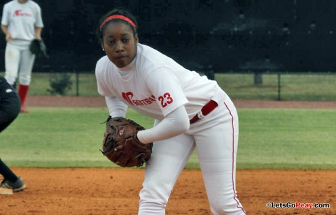 Freshman Taylor Mills took loss against South Alabama. (Austin Peay Sports Information)
