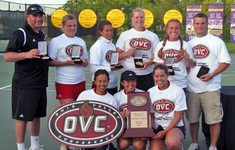 APSU Women's Tennis. (Austin Peay Sports Information)
