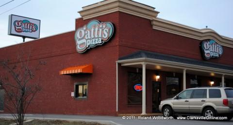 Gatti's Pizza in Clarksville, Tennessee