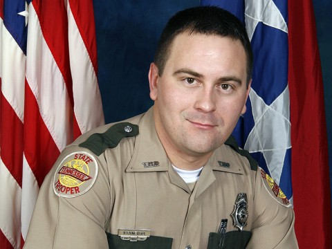 Trooper Dwayne Stanford the 2010 Trooper of the Year