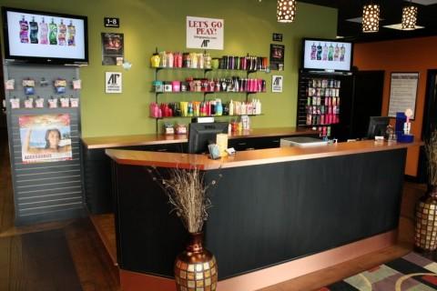 The Lobby of the Sun Oasis Tanning Salon