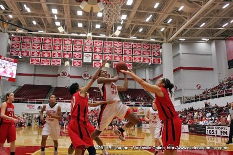 Lady Govs Basketball.