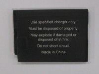 Label from recalled Video Monitor.