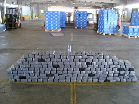 Officers found more than $4 million of U.S. currency inside the duct taped bundles.