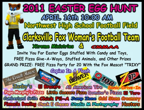 5th Annual Clarksville Fox Easter Egg Hunt