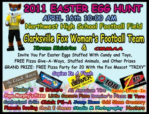 5th Annual Clarksville Fox Easter Egg Hunt