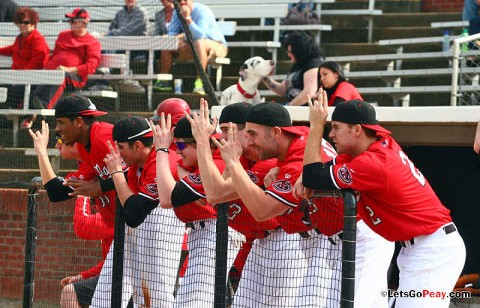 Austin Peay hosts South Dakota State in a pair of 4:00pm contests, Tuesday and Wednesday. (Mateen Sidiq/Austin Peay)