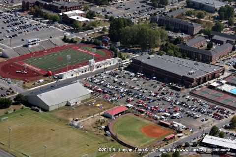 APSU Football Stadium.