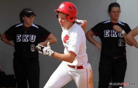 Junior Catie Cozart had three hits and scored twice in 9-4 loss to EKU. (Austin Peay Sports Information)