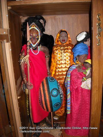 The African Dolls of Ludie Amos